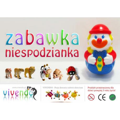 Mix zabawek 32 mm (200 x 0,37 zł)