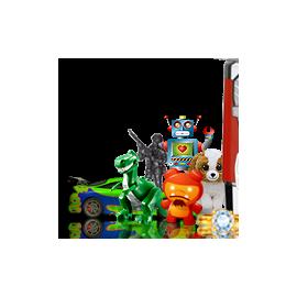Zabawki w kapsułach 32 mm